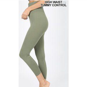 Tummy Control Capri Leggings